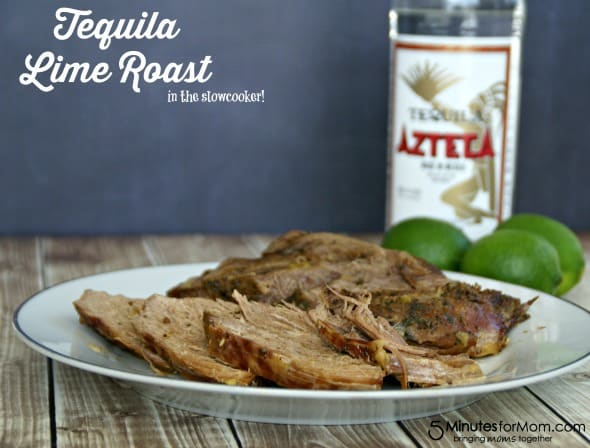 Tequila Lime Roast (in the slowcooker!) / by www.BusyMomsHelper.com via 5MinutesForMom.com #roast #tequilalime #slowcooker