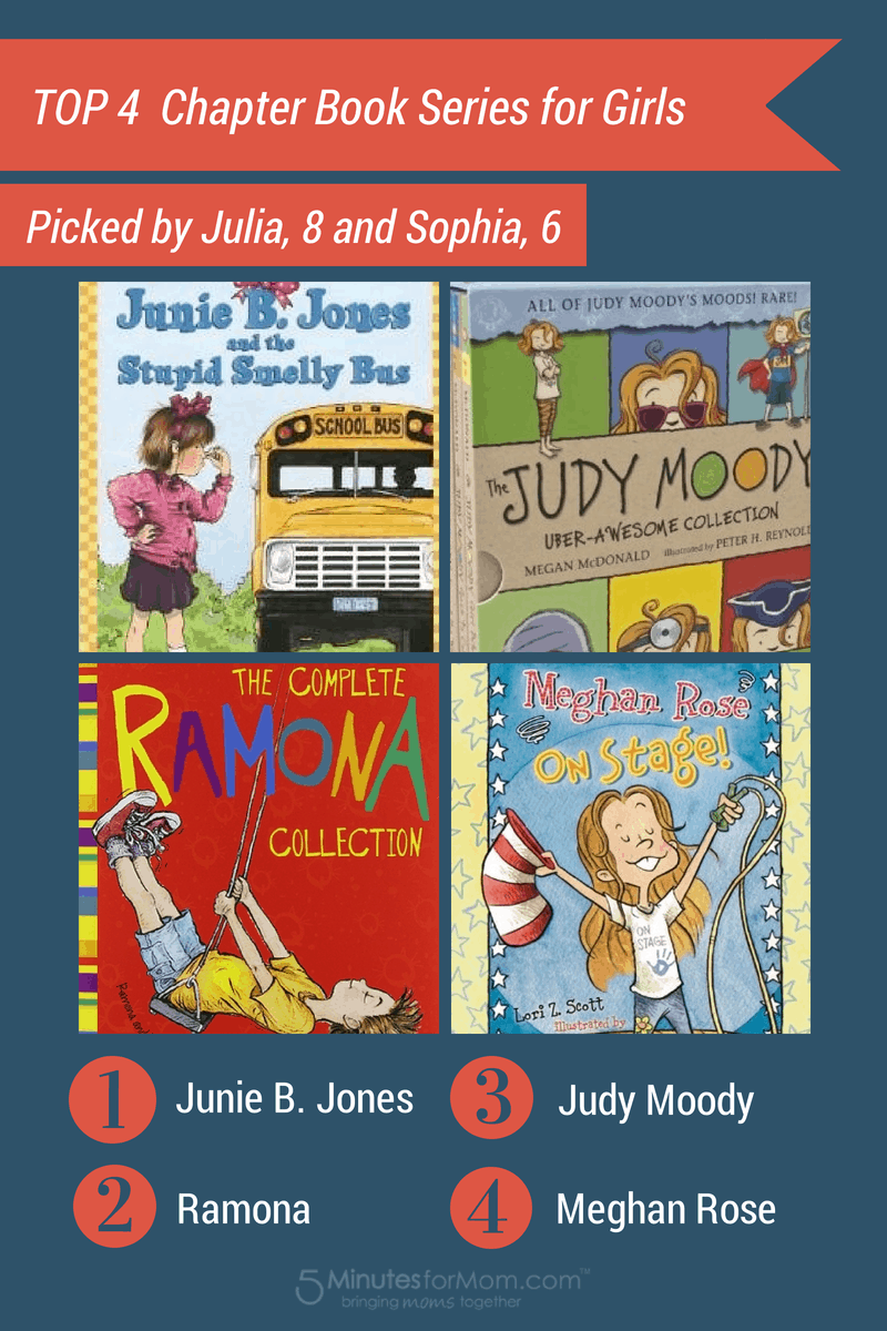 4 Top Children's Book Series for Girls