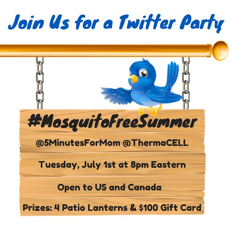 Twitter Party MosquitoFreeSummer