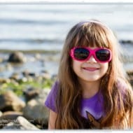 Wordless Wednesday – Sophia at the Beach