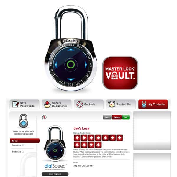 Master Lock dialSpeed Combination Lock