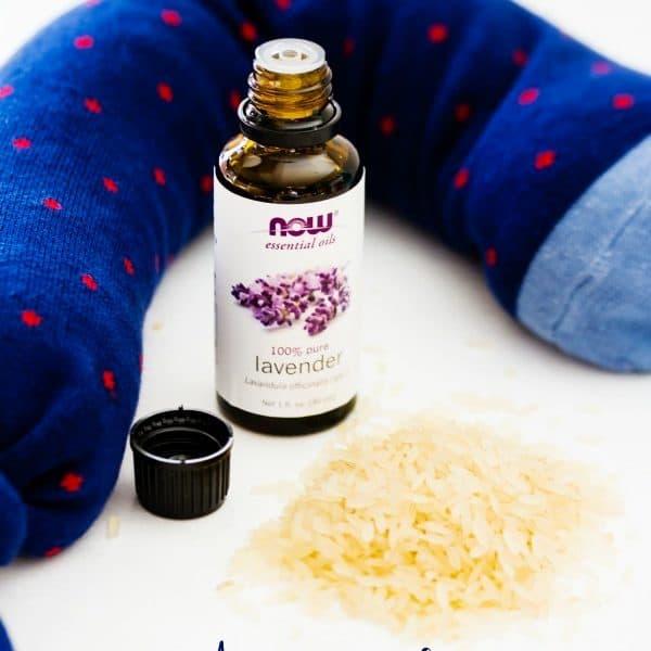 DIY Aromatherapy Neck Pillow