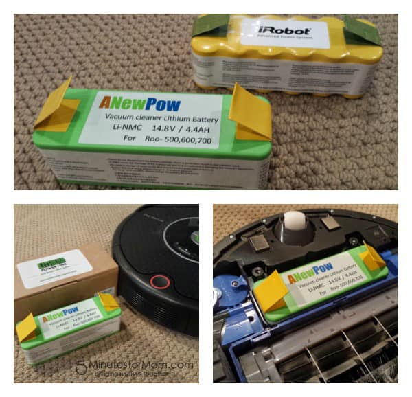 Lithium Replacement Battery for Roomba Vacuum #Giveaway