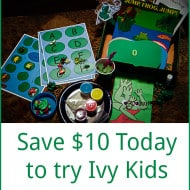 Ivy Kids Literature Based Activity Kits #giveaway