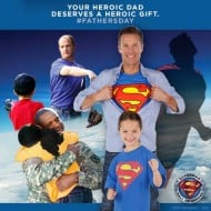 Give Your Hero Dad a Heroic Gift for Father's Day #SupermanHallofHeroes