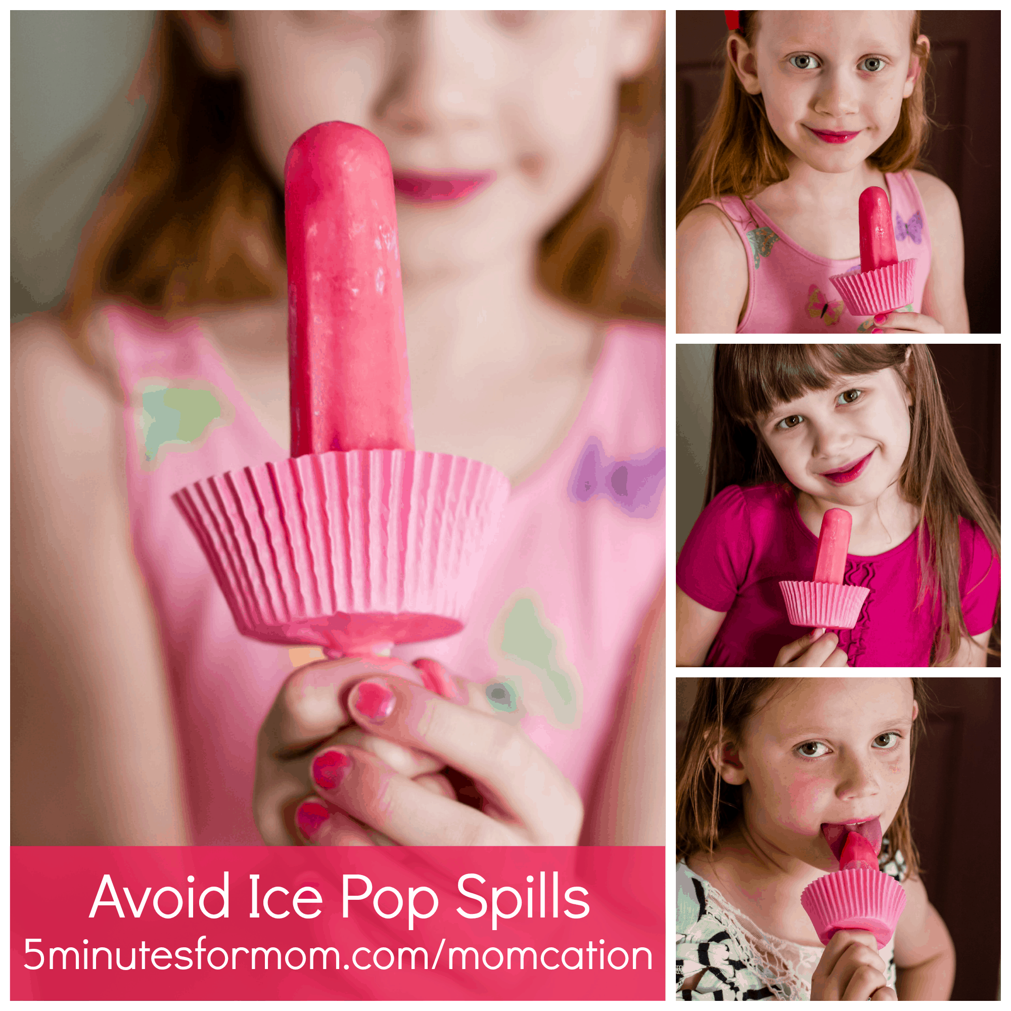 Avoid Ice Pop Spills