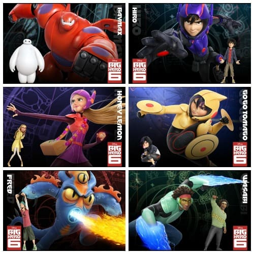 Voice Cast Announced And New Trailer For Disney S Big Hero 6