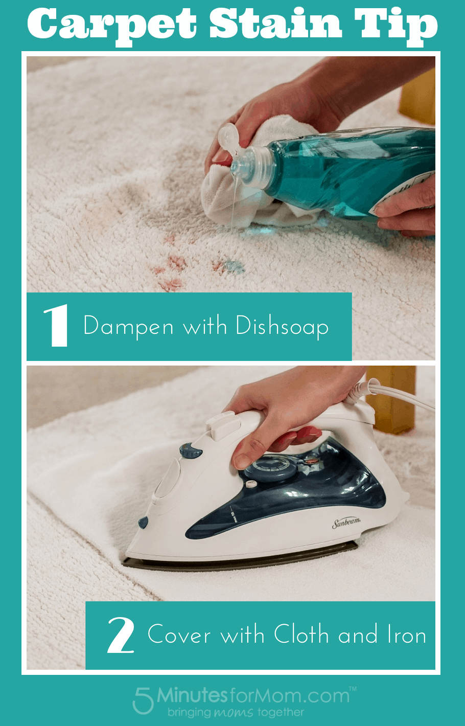 Carpet Stain Tip