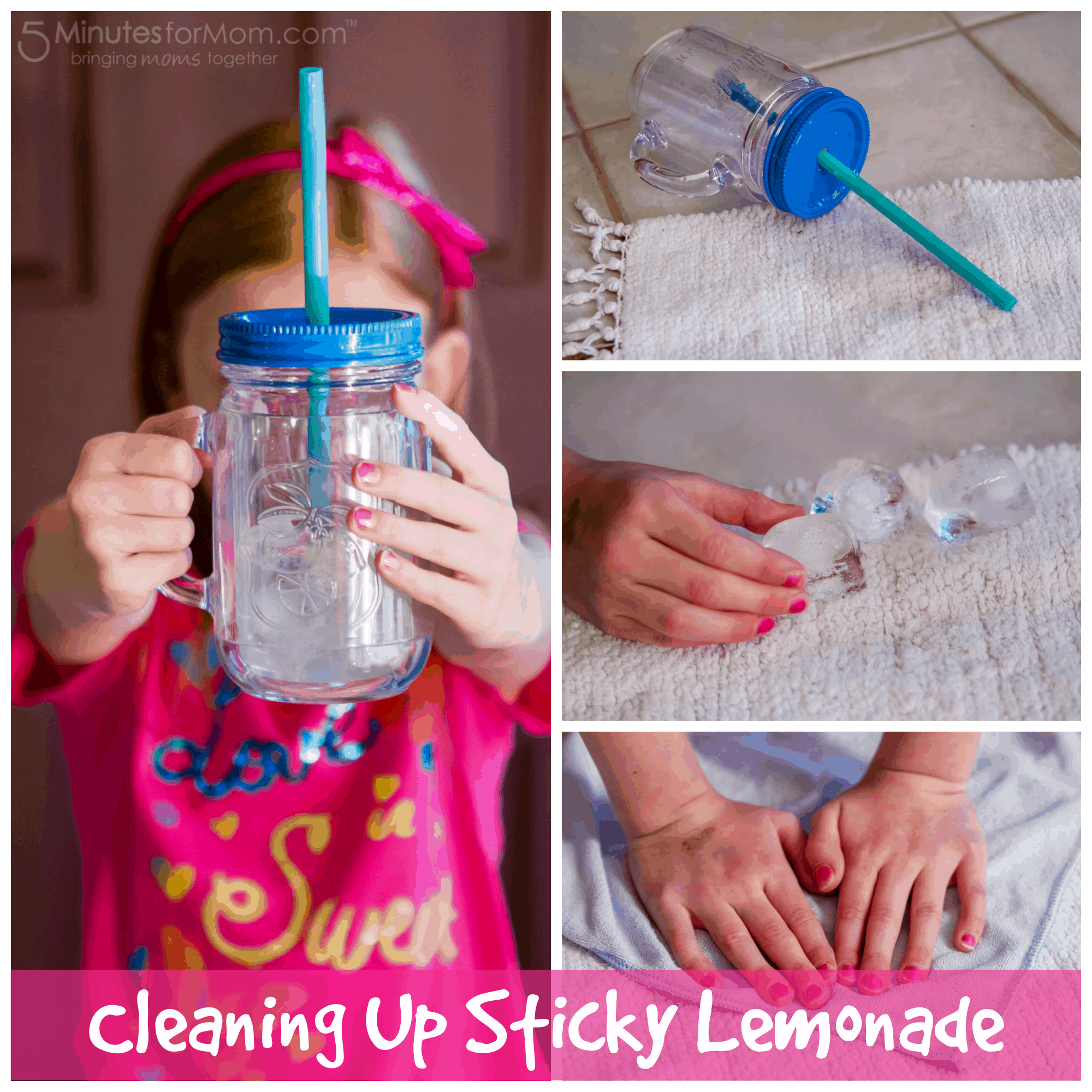 Cleaning Up Sticky Lemonade