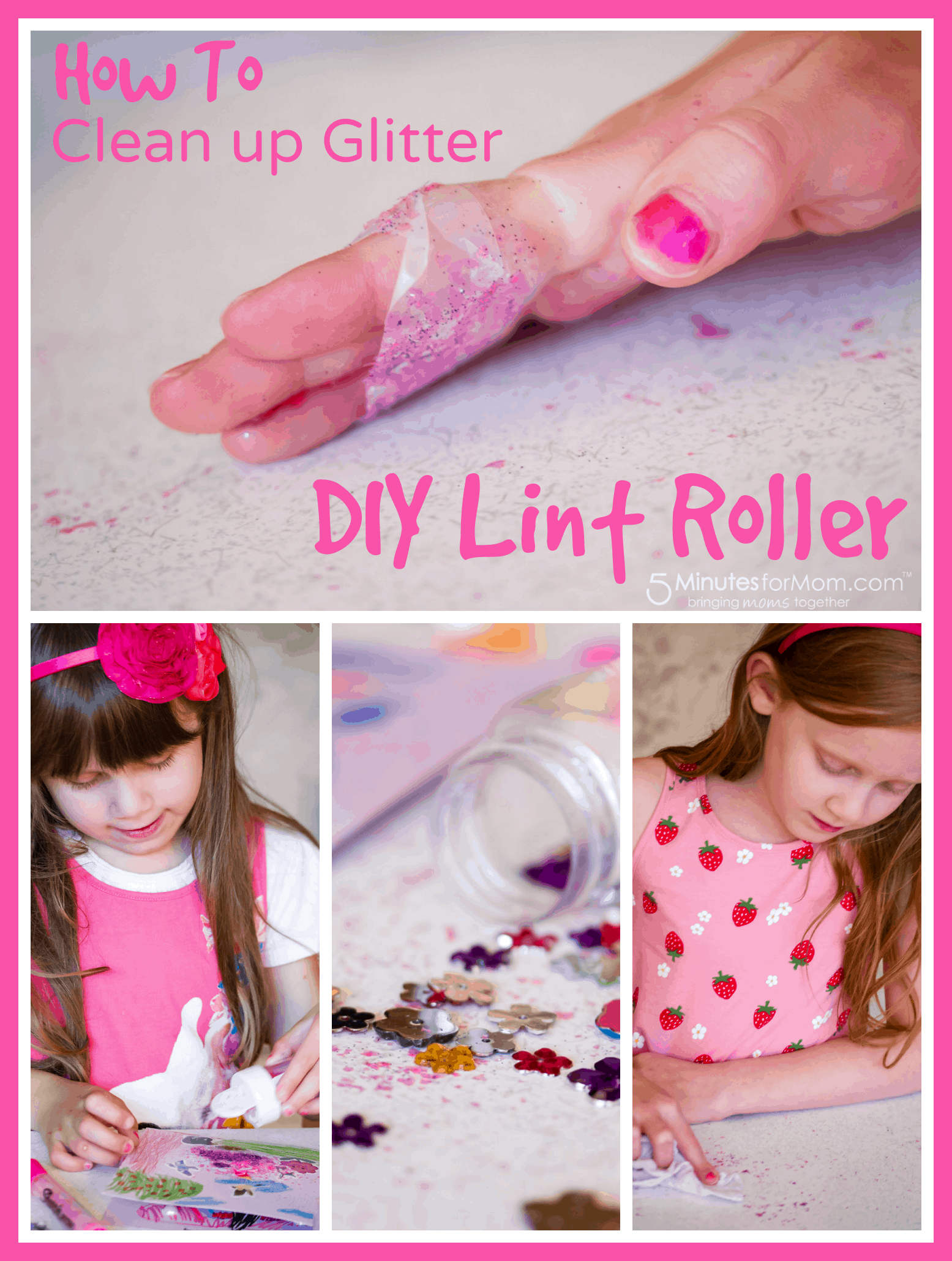 DIY Lint Roller