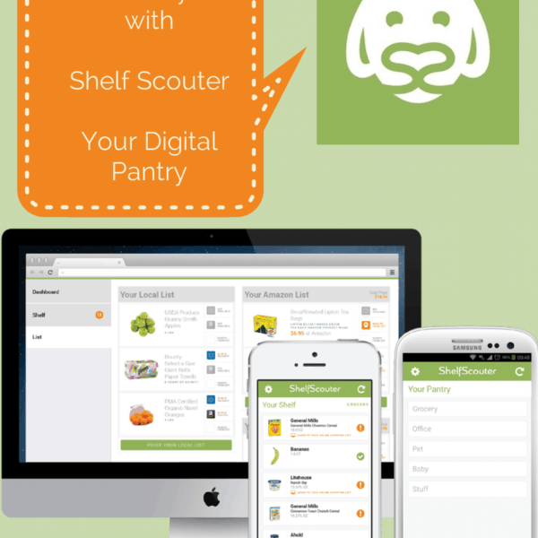 Save Time and Money with Shelf Scouter – Digital Pantry – $100 #Giveaway