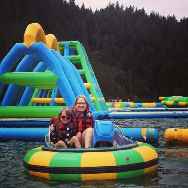 Sophia and Susan Bumper Boats