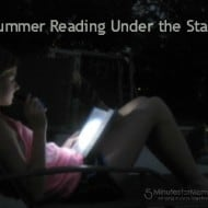A Reading Under the Stars Party #SummerReading