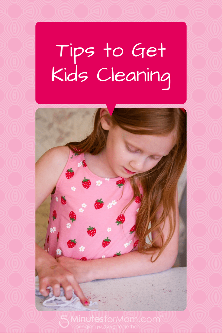 Tips to Get Kids Cleaning