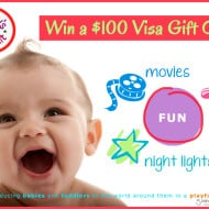 Baby's Brilliant App & $100 Visa Gift Card #Giveaway