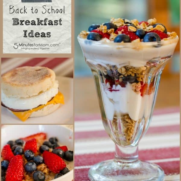 Back to School Breakfast Ideas