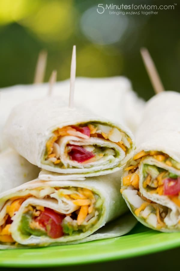 picnic food - wraps for kids