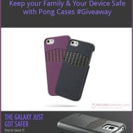 Protect Your Family and Your Device with Pong Case #Giveaway
