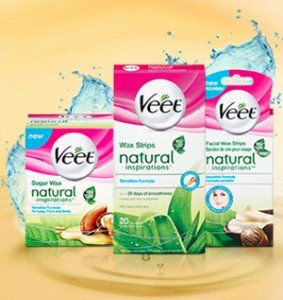Hair Removal with Natural Products? Try Veet Natural Inspirations! #Canadian #Giveaway