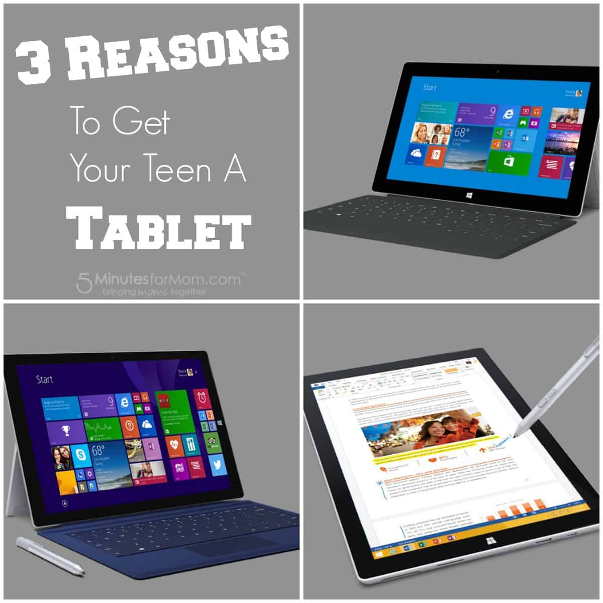 3 Reasons to Get Your Teen a Tablet
