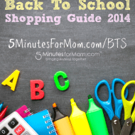 Back to School Shopping Guide 2014