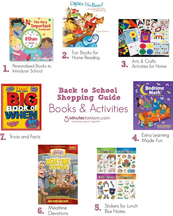 Back To School Shopping Guide Books