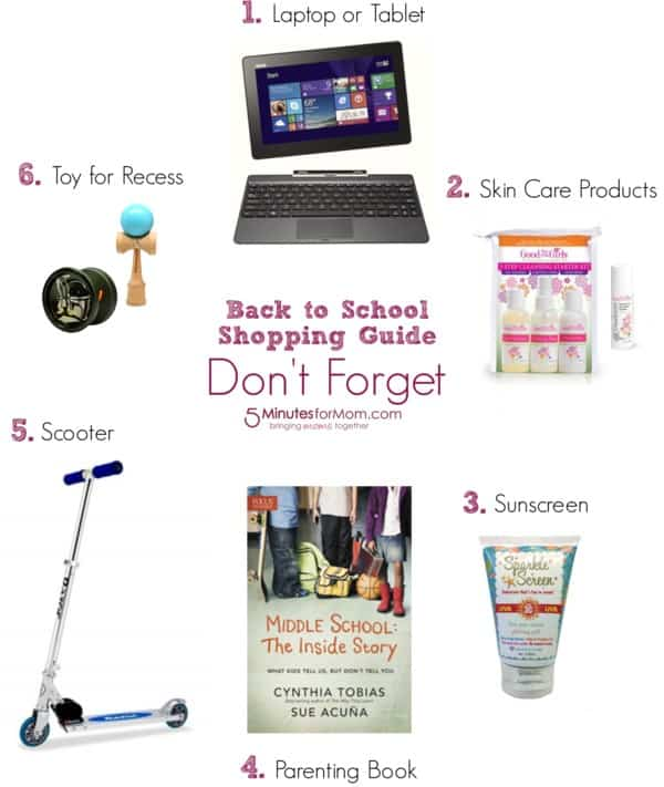 Back To School Shopping Guide School Supplies