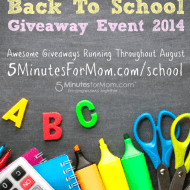 Back to School Giveaway Event 2014 #BackToSchool
