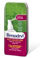Benadryl Itch Spray