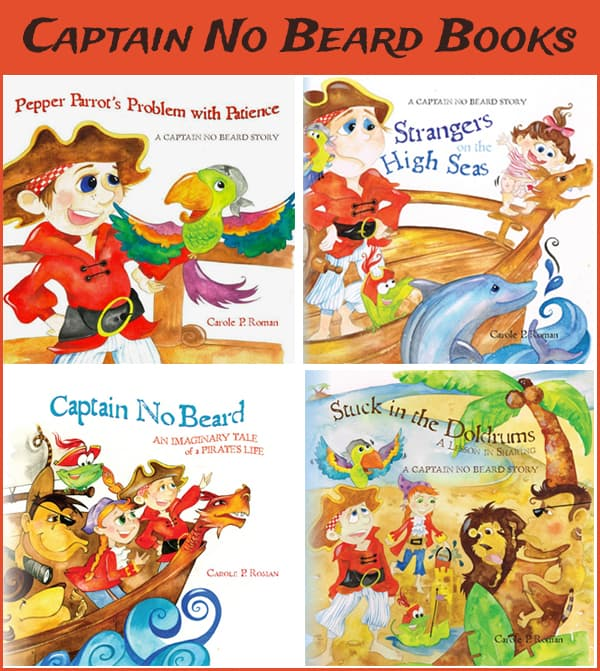 Captain No Beard Books