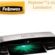 Back To School #Giveaway: Fellowes Neptune™3 125 Laminator