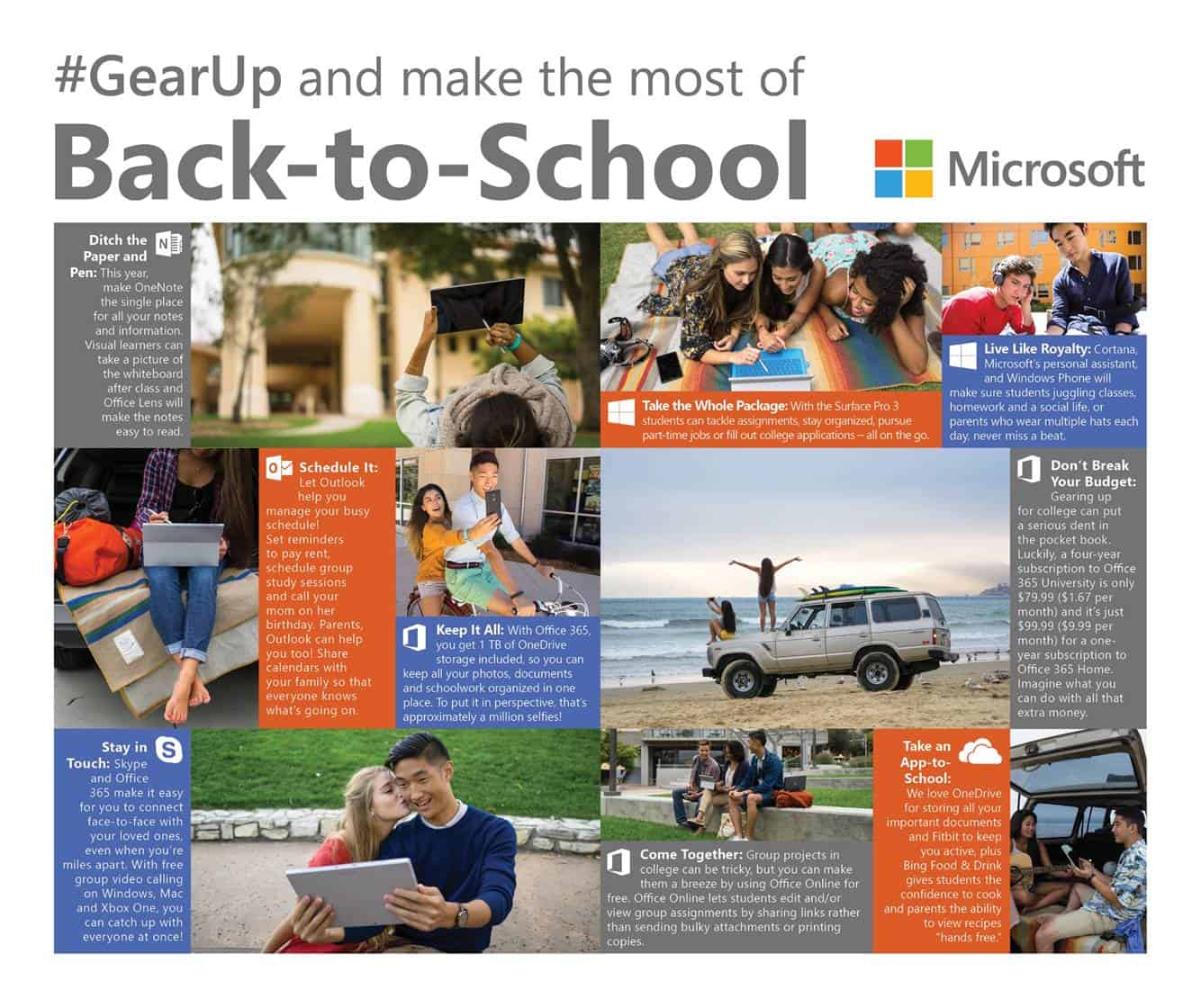Gear Up for Back to School