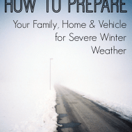 How To Prepare for Severe Winter Weather #LSSS #EmergencyKits