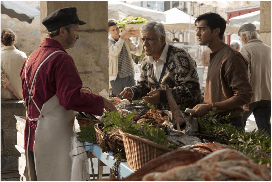 Kadam Family at the Market