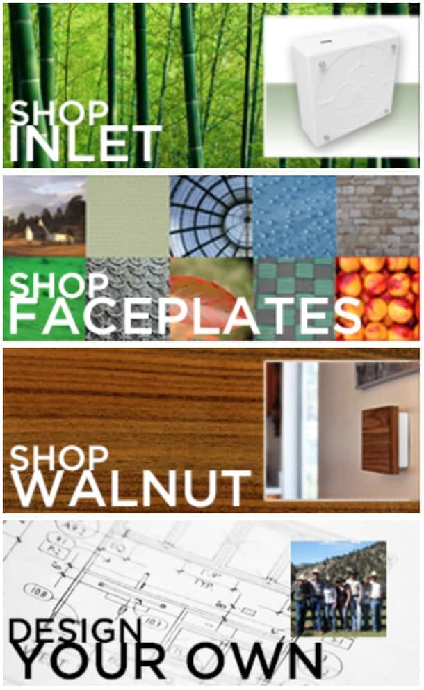 LivingPlug Faceplates