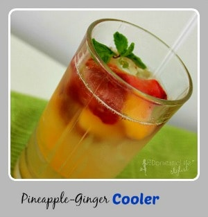 Pineapple ginger drink -cover photo300x313
