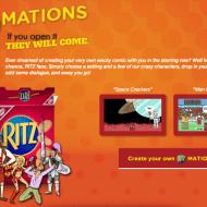 Create Your Own Wacky Comic #Ritzmation