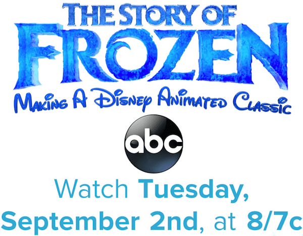 The Story of Frozen ABC 09022014