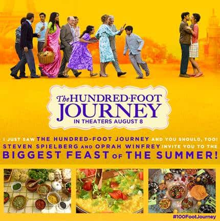 The Hundred-Foot Journey Graphic