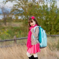 Back to School with Lands' End – $50 Gift Card #Giveaway – 3 Winners