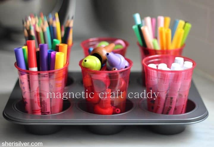 magnetic craft caddy - sheri silver