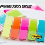 How to Organize School Binders