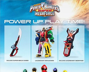 Power Rangers Super Megaforce Toys