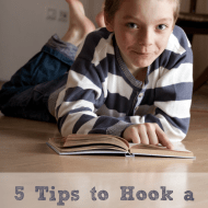 5 Tips to Hook a Reluctant Reader