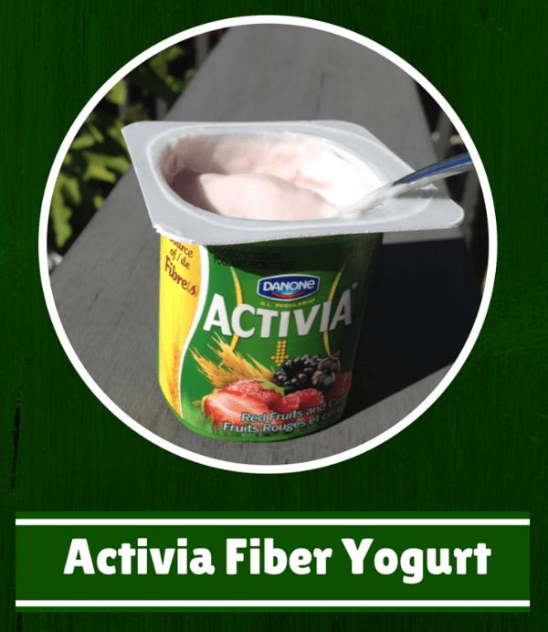 Activia Fiber Yogurt