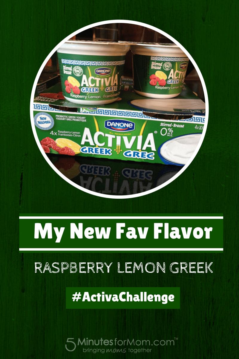 Activia New Fav Flavor