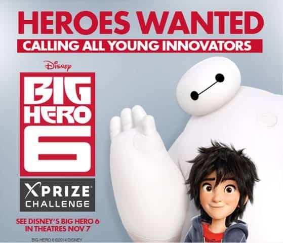 Big Hero 6 XPrize Contest
