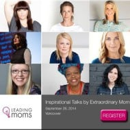 Leading Moms #Vancouver Event and Twitter Party #LMinspire