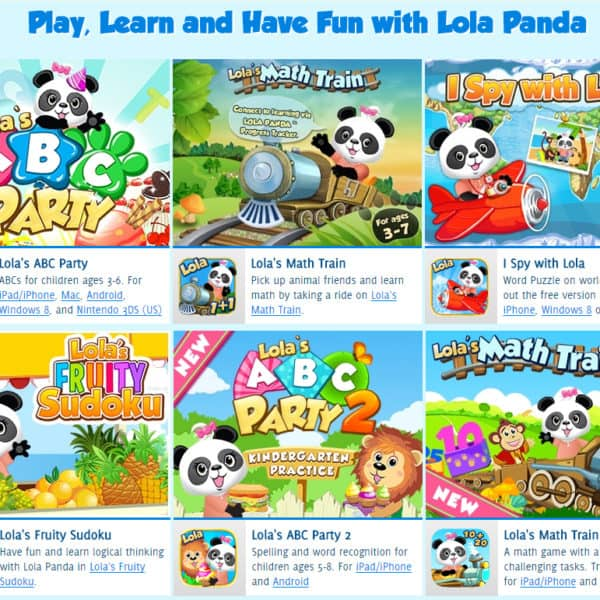 Lola's World – A Fun Educational App for Kids