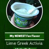 Well, That Was Easy… #ActiviaChallenge with @Activia